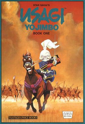 Usagi Yojimbo Book One cover
